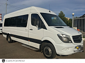 MERCEDES SPRINTER LUX  20 мест белый 2014