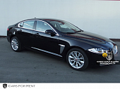 Jaguar XF Black черный