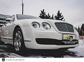 Bentley Flying Spur белый