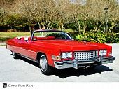 Cadillac Eldorado Red Brilliant