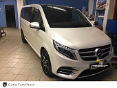 Mercedes V klass 2016 г. белый