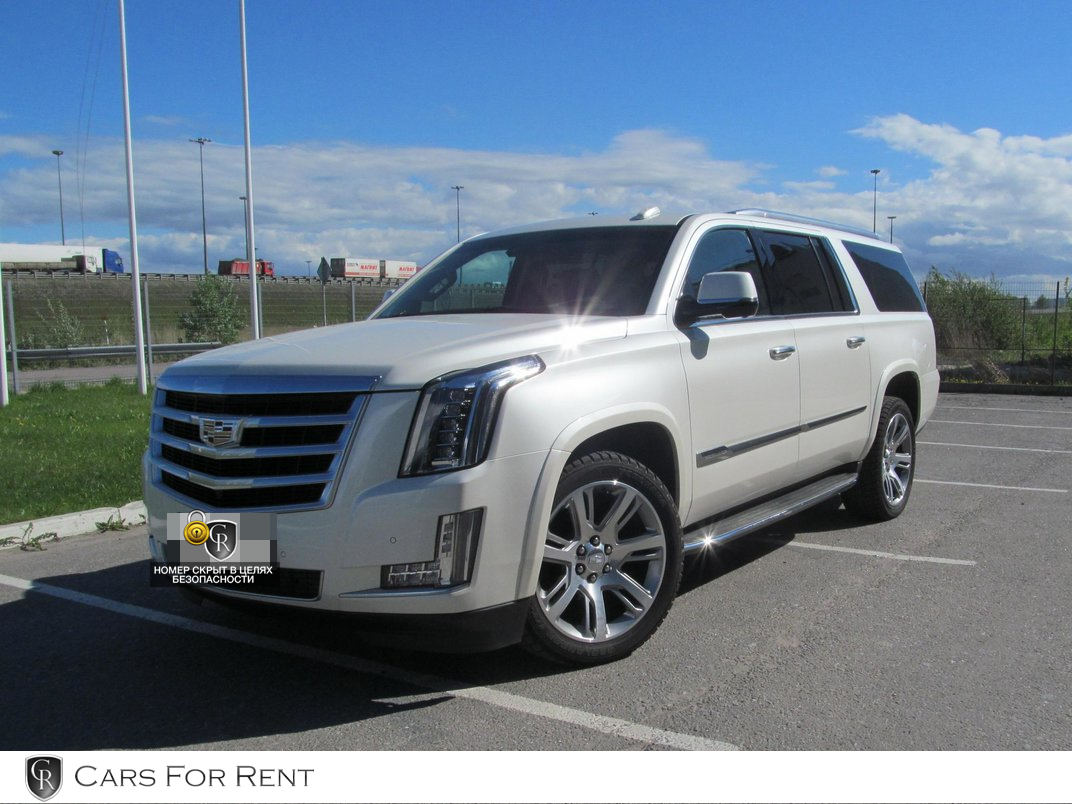 Cadillac Escalade NEW белый 2016